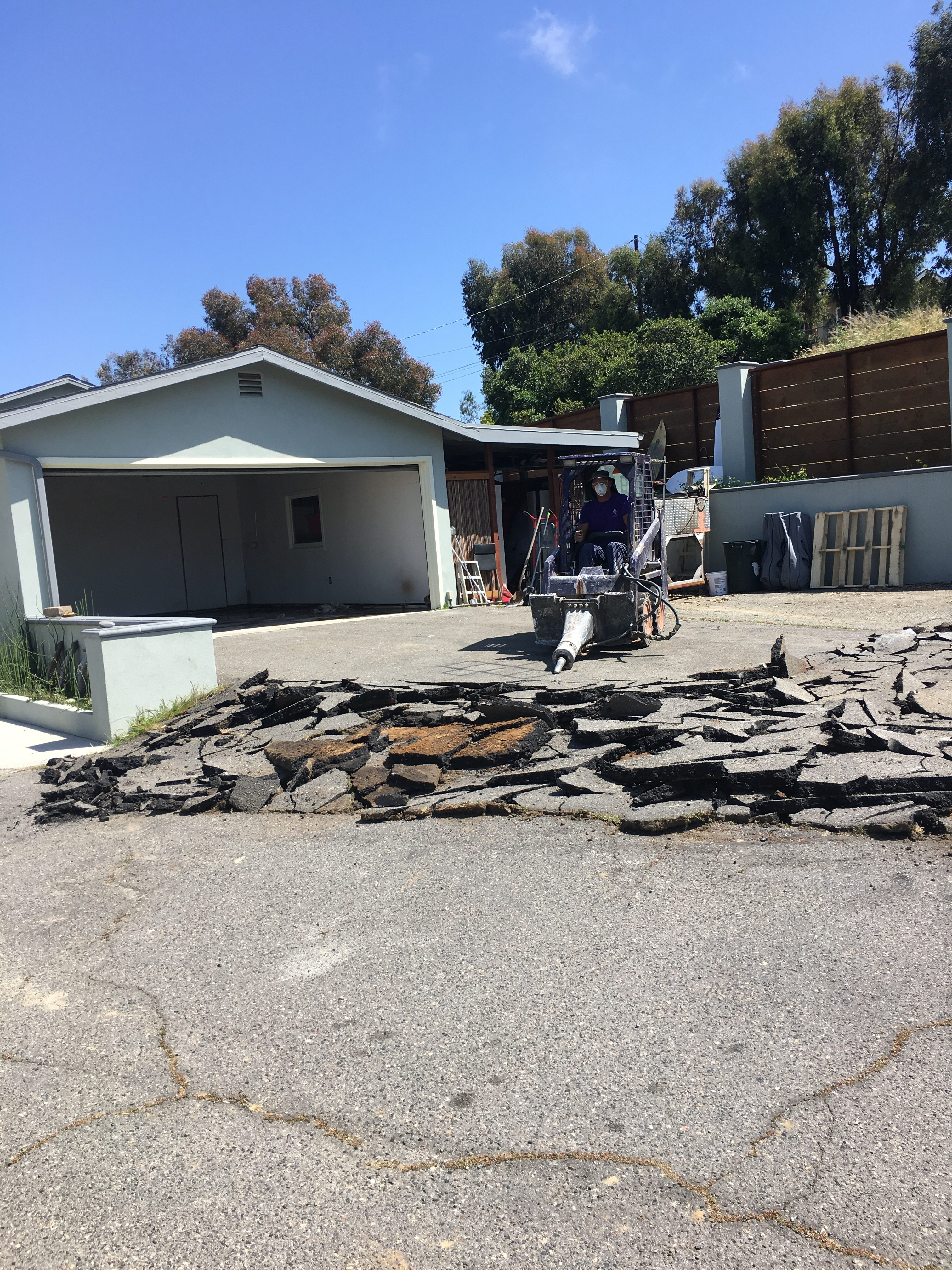 Concrete Removal Services San Diego Ace Hauling