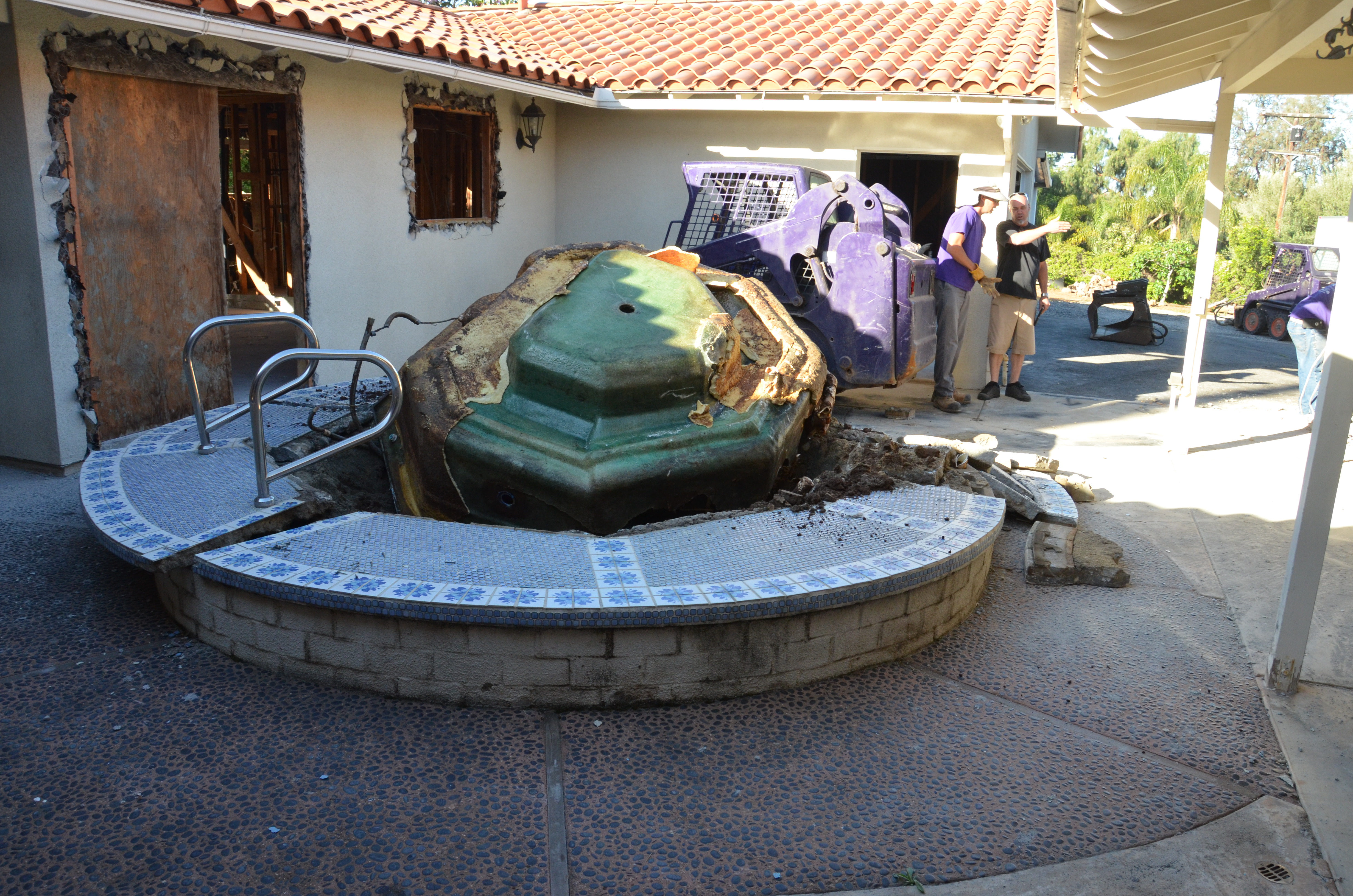 Spa Amp Hot Tub Removal Services San Diego Ace Hauling