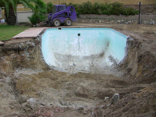 Swimming Pool Demolition Removal Services Ace Hauling