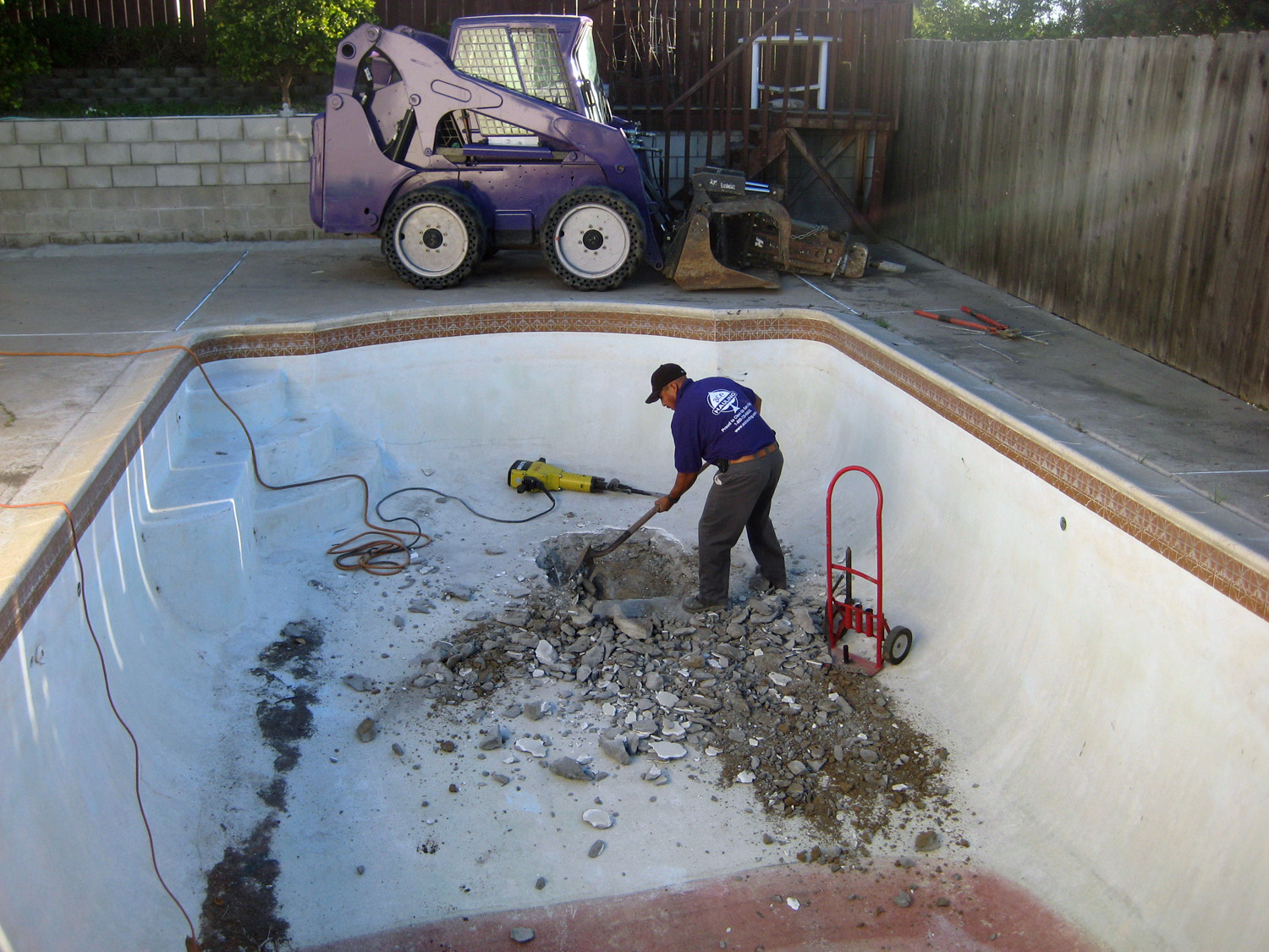 Swimming Pool Demolition Amp Removal Services San Diego Ca